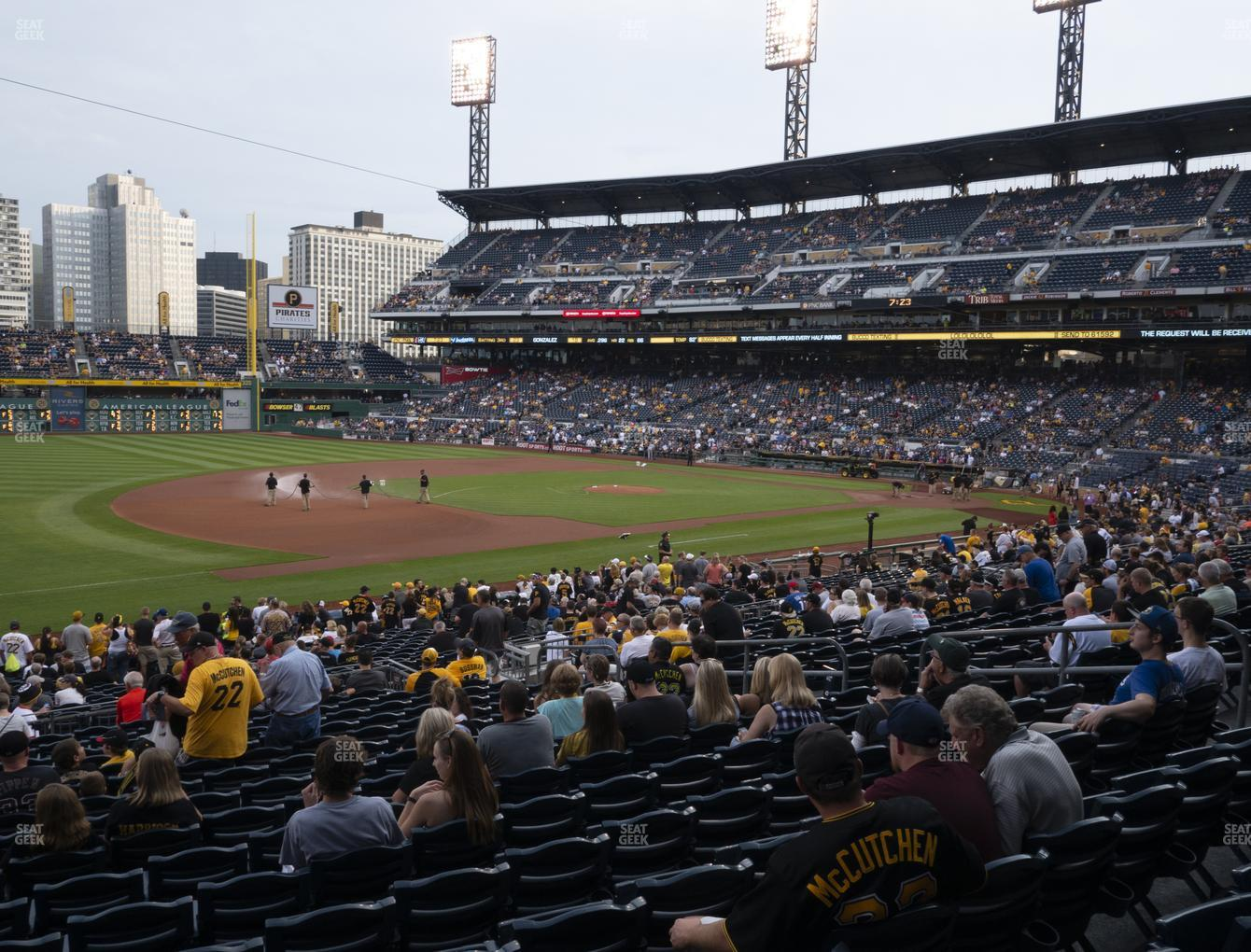 Pittsburgh Pirates at PNC Park Section 127 View