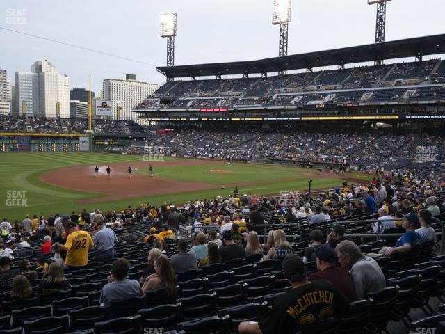 PNC Park Section 127 view