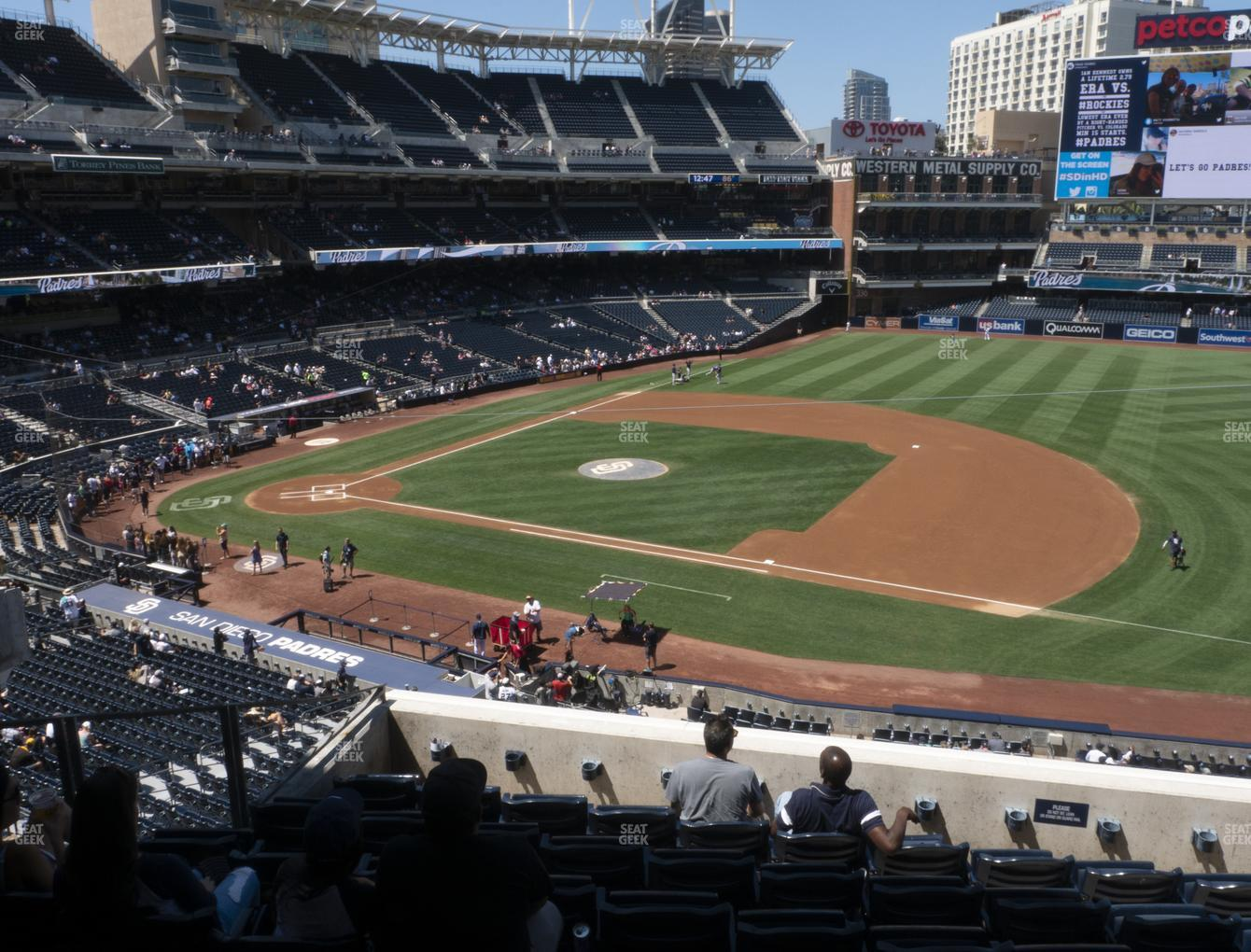 MLB at Petco Park Section 211 View