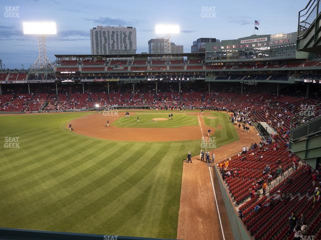 Fenway Park Green Monster 1 view