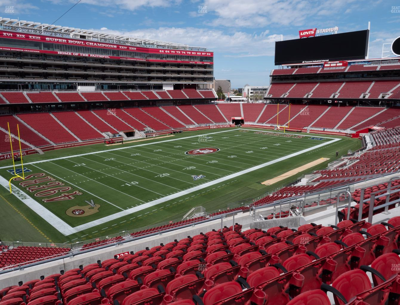 San Francisco 49ers at Levi's Stadium Section 223 View