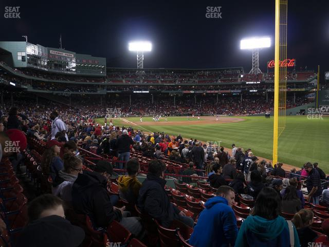 Fenway Park Right Field Box 93 view