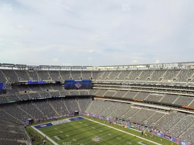 MetLife Stadium Section 332 view