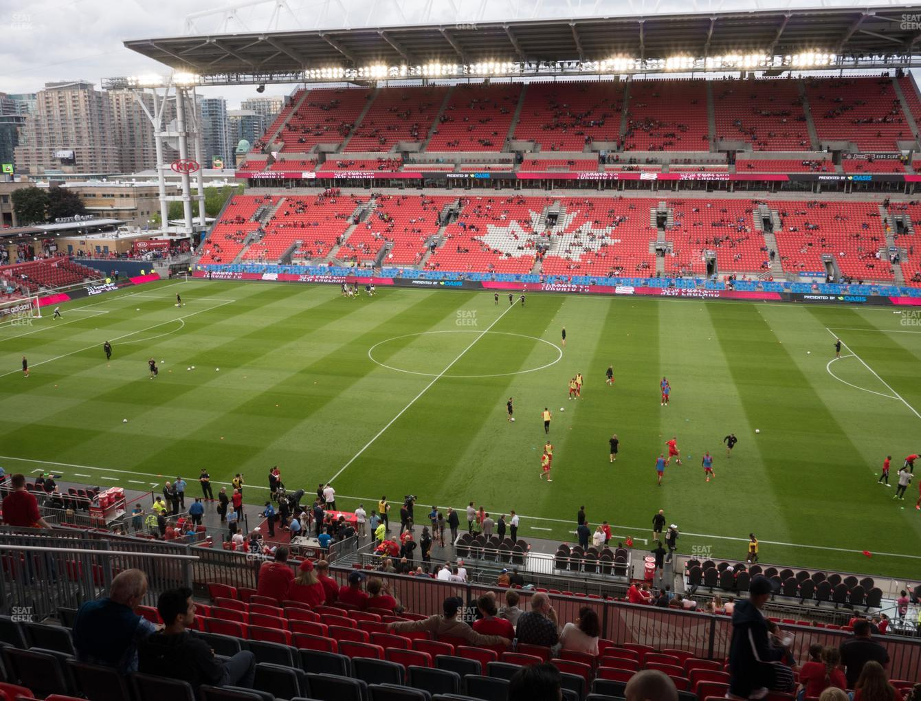 Toronto FC at BMO Field Section 222 View