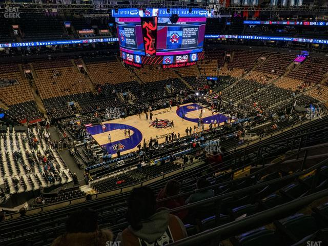 Scotiabank Arena Section 323 view