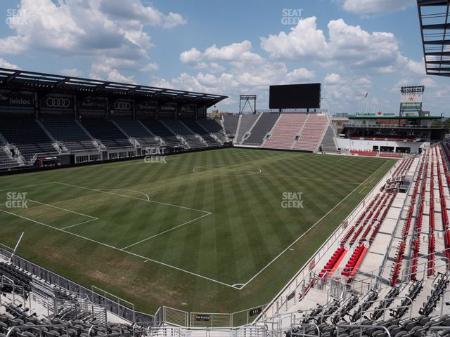 Audi Field Section 113 view