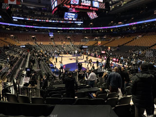 Scotiabank Arena Section 104 view