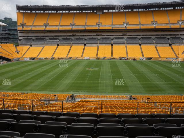 Heinz Field Section 211 view