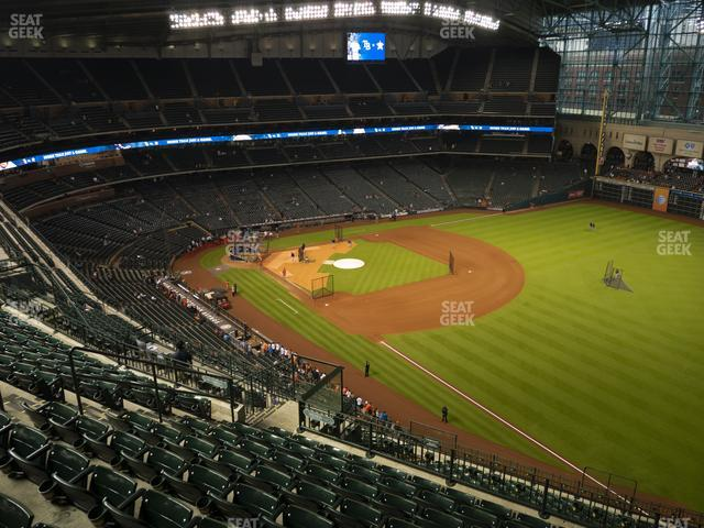 Minute Maid Park Section 432 view