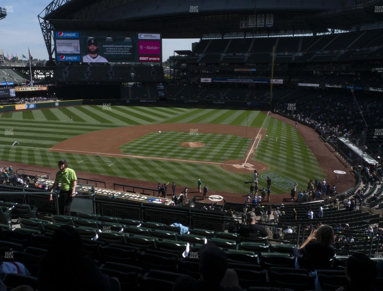 Seattle Mariners at T-Mobile Park Section 233 View