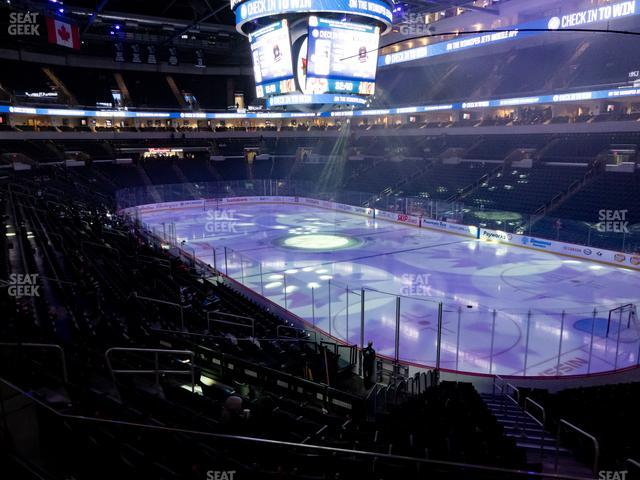 Bell MTS Place Section 215 view