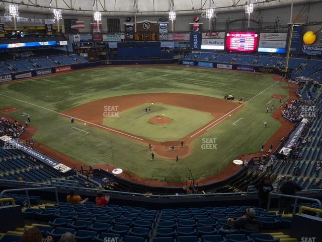 Tropicana Field Section 301 view