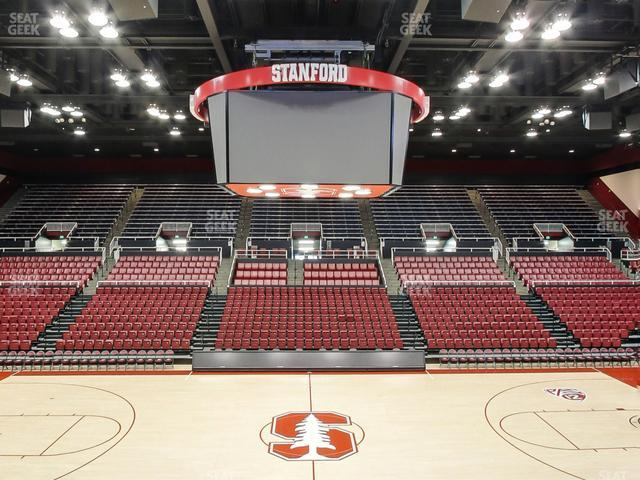 Maples Pavilion Section 11 view