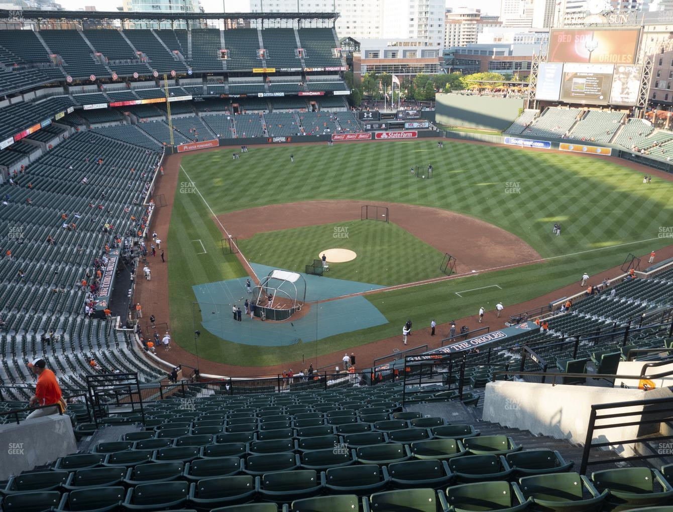 Baltimore Orioles at Oriole Park at Camden Yards Section 330 View
