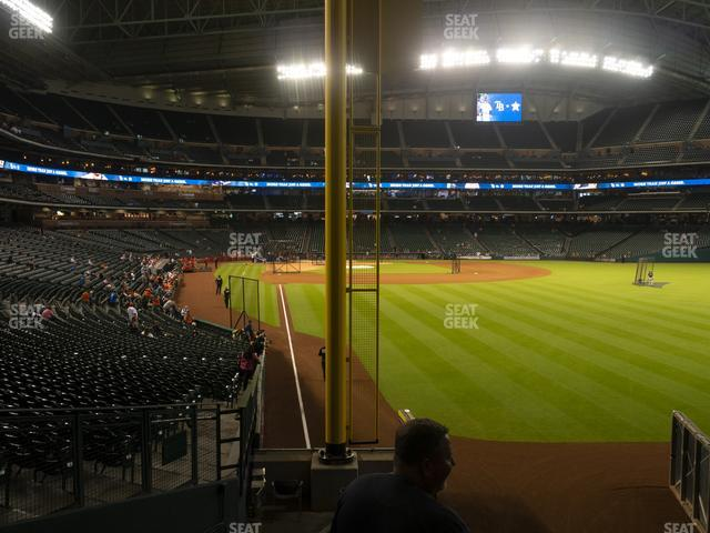 Minute Maid Park Section 151 view