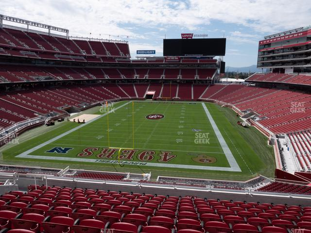 Levi's Stadium Section 202 view