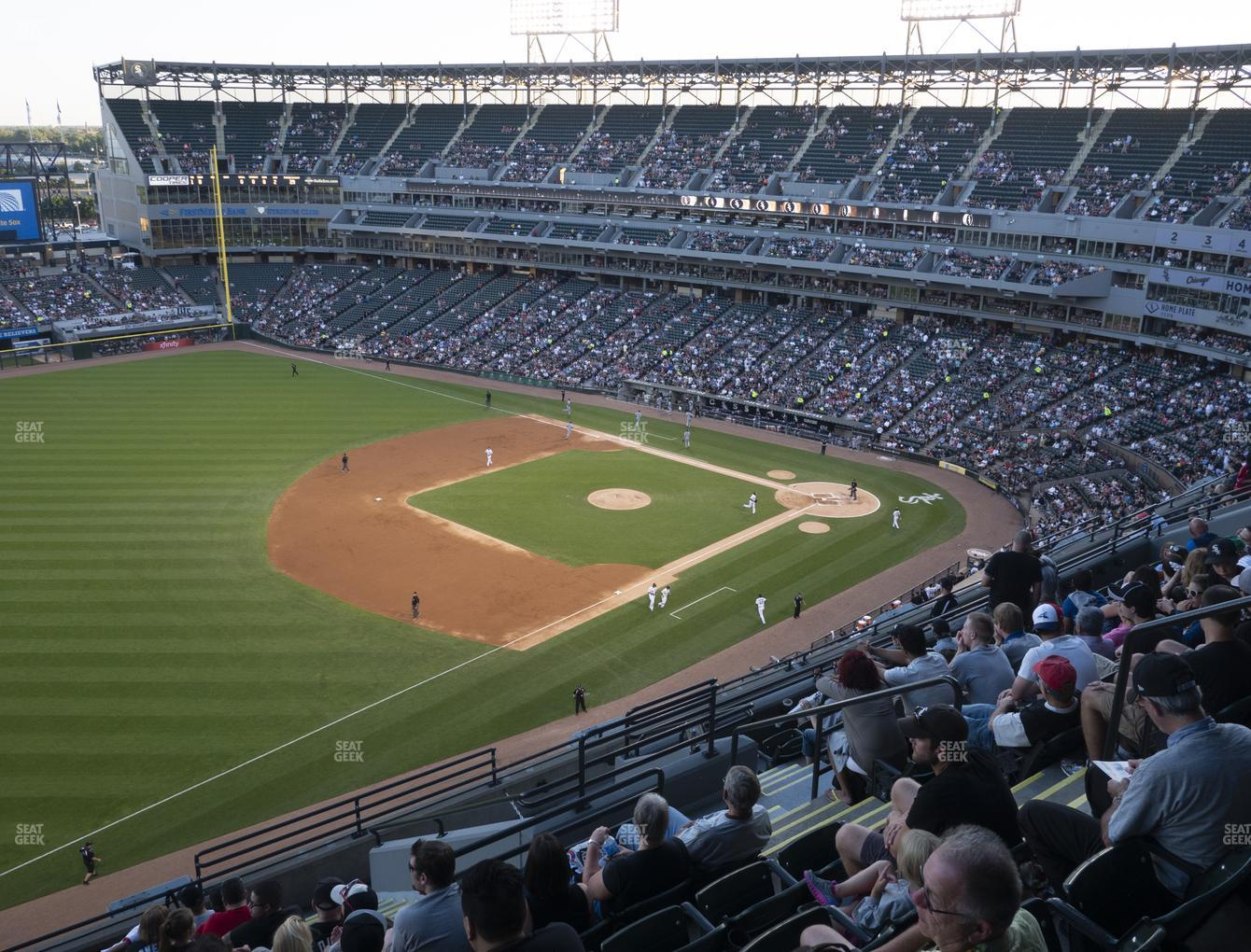Chicago White Sox at Guaranteed Rate Field Section 548 View