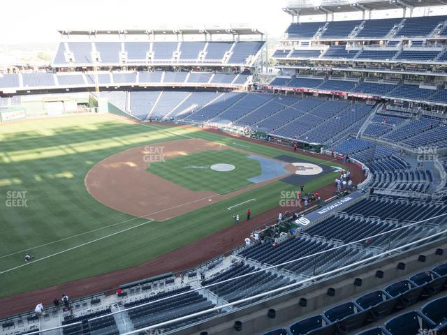 Nationals Park Section 305 view