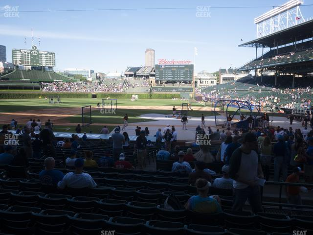 Wrigley Field Section 114 view