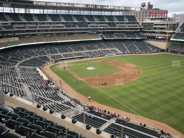Target Field Section 203 view