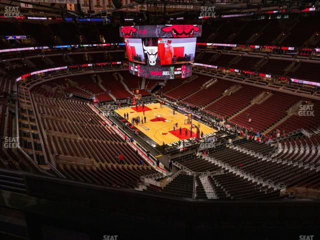 United Center Section 312 view