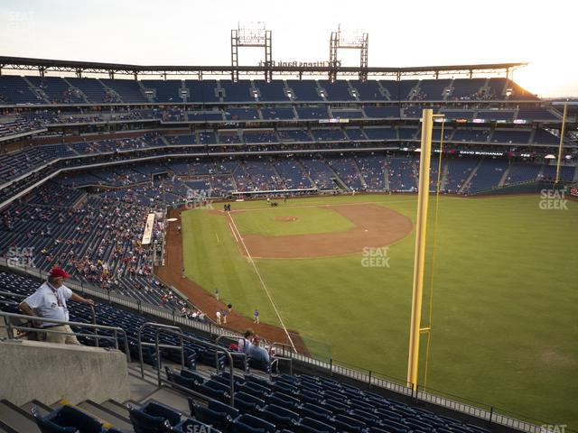Citizens Bank Park Section 306 view