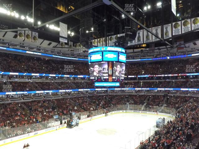 United Center Section 222 view
