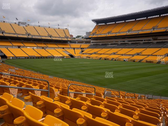 Heinz Field Section 141 view