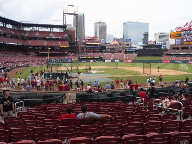 Busch Stadium Home Field Box 147 view
