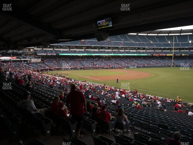 Angel Stadium of Anaheim Section 228 view