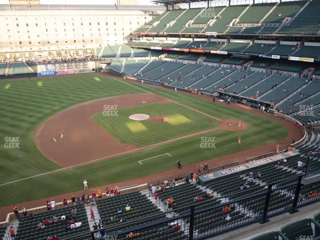 Oriole Park at Camden Yards Section 358 view