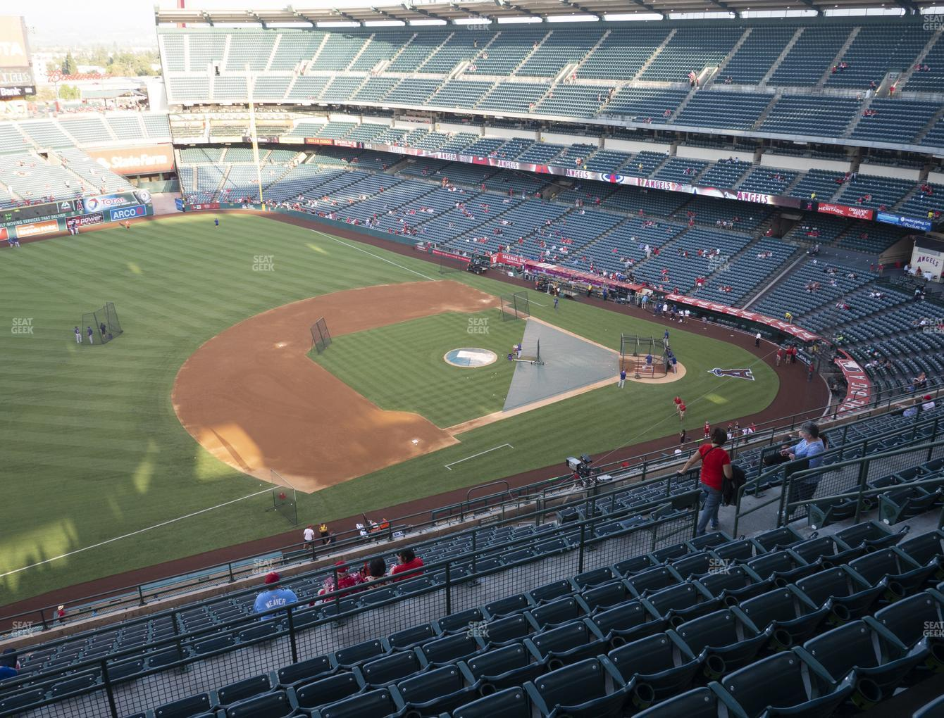 Los Angeles Angels at Angel Stadium of Anaheim Section 511 View
