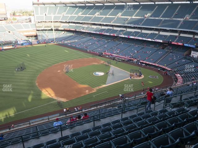 Angel Stadium of Anaheim Section 511 view