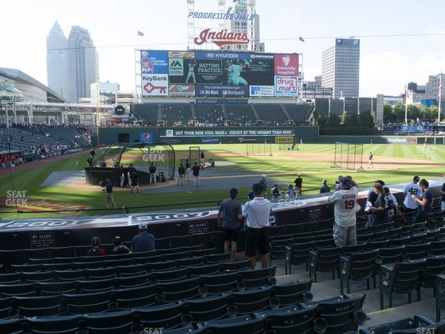 Progressive Field Section 150 view