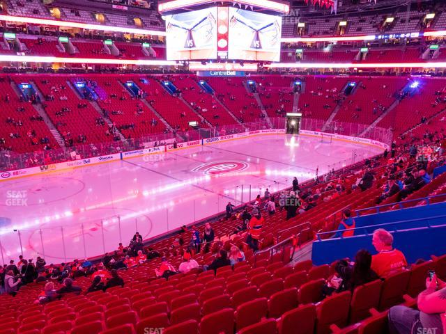 Bell Centre Section 104 view