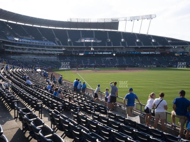 Kauffman Stadium Section 147 view
