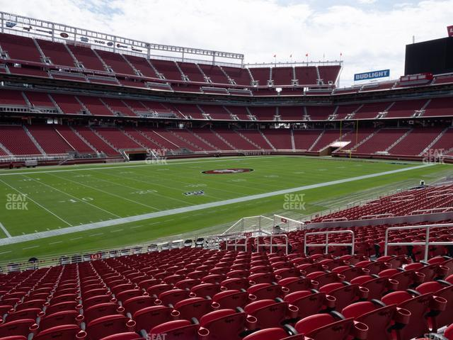 Levi's Stadium Section 143 view