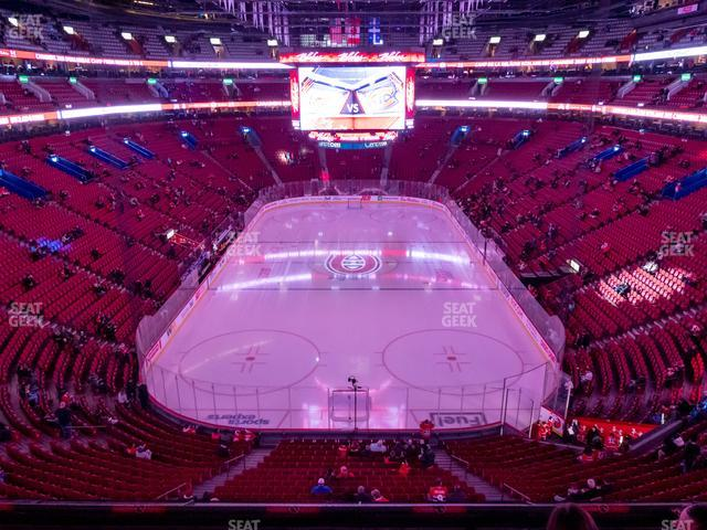 Bell Centre Section 219 view