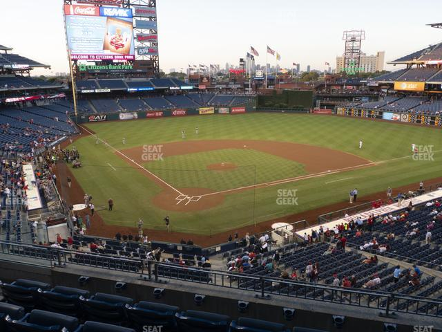 Citizens Bank Park Section 220 view