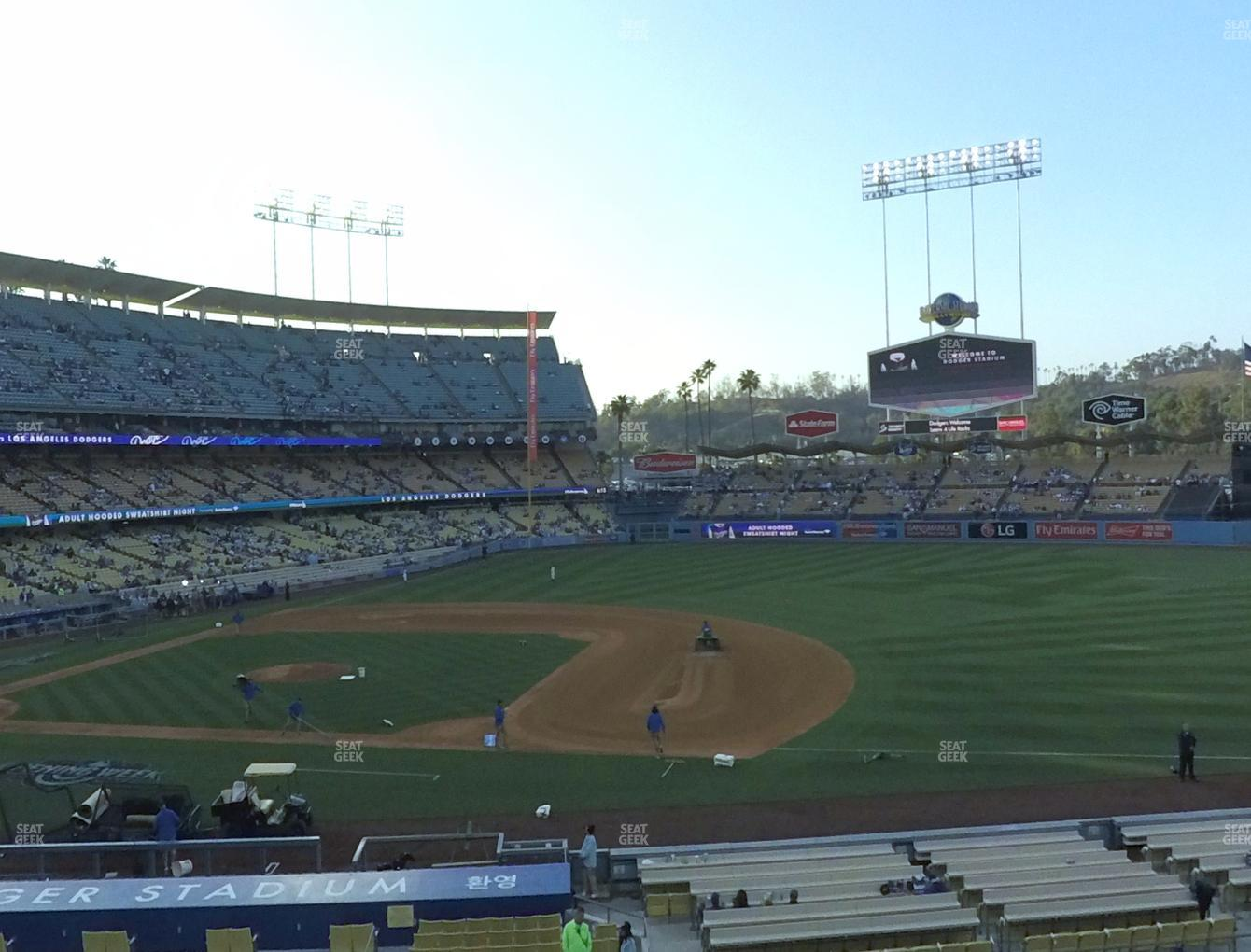 Dodger Stadium Loge Box 138 Seat Views Seatgeek