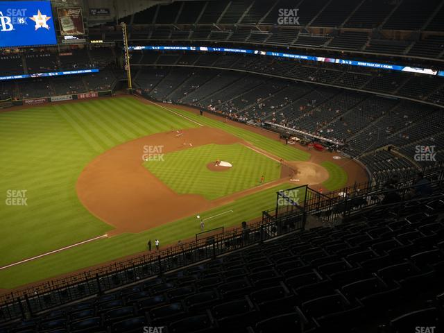 Minute Maid Park Section 411 view