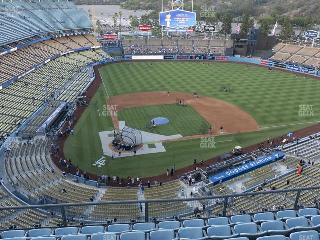 Dodger Stadium Section Top Deck 8 view