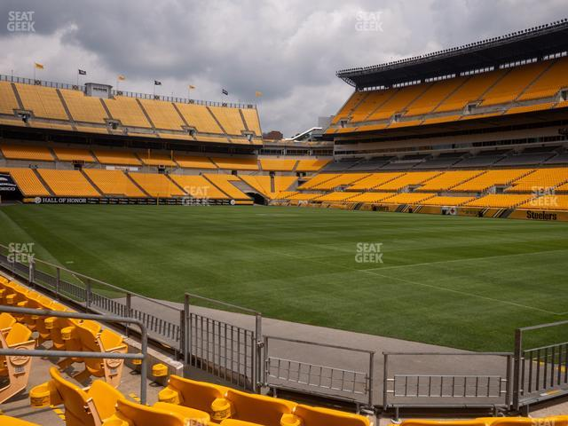 Heinz Field Section 140 view