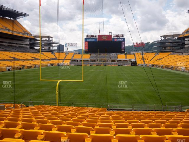 Heinz Field Section 123 view
