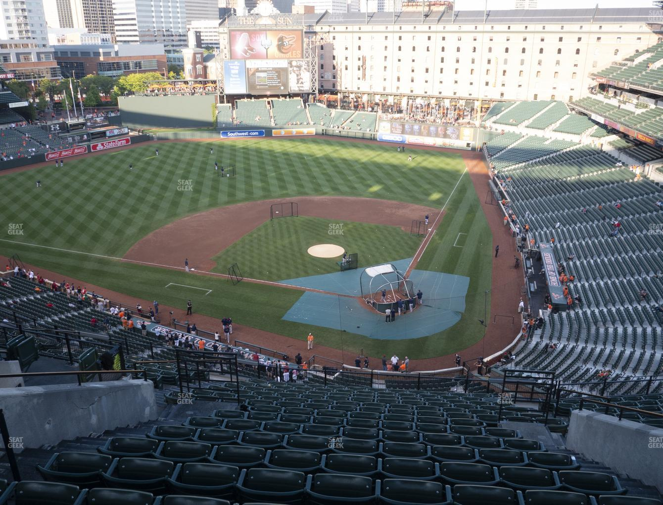 Baltimore Orioles at Oriole Park at Camden Yards Section 344 View