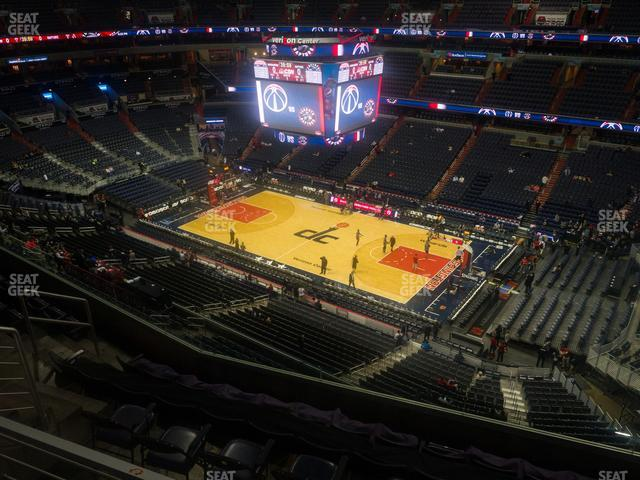 Capital One Arena Section 420 view