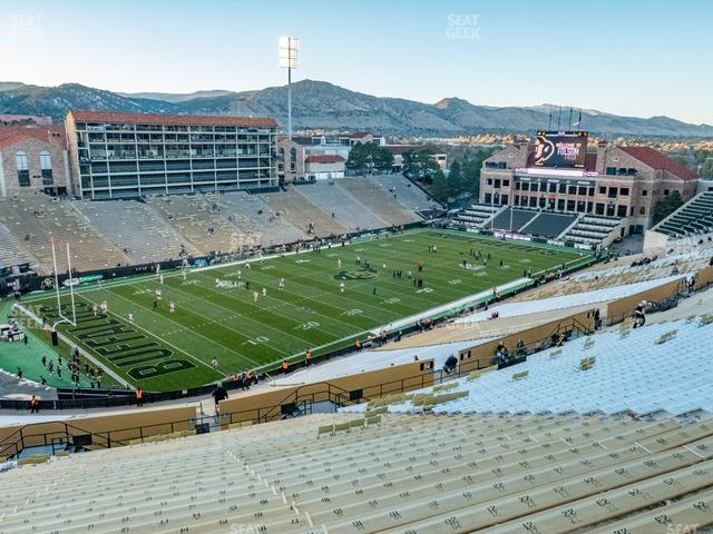 Folsom Field Section 551 view