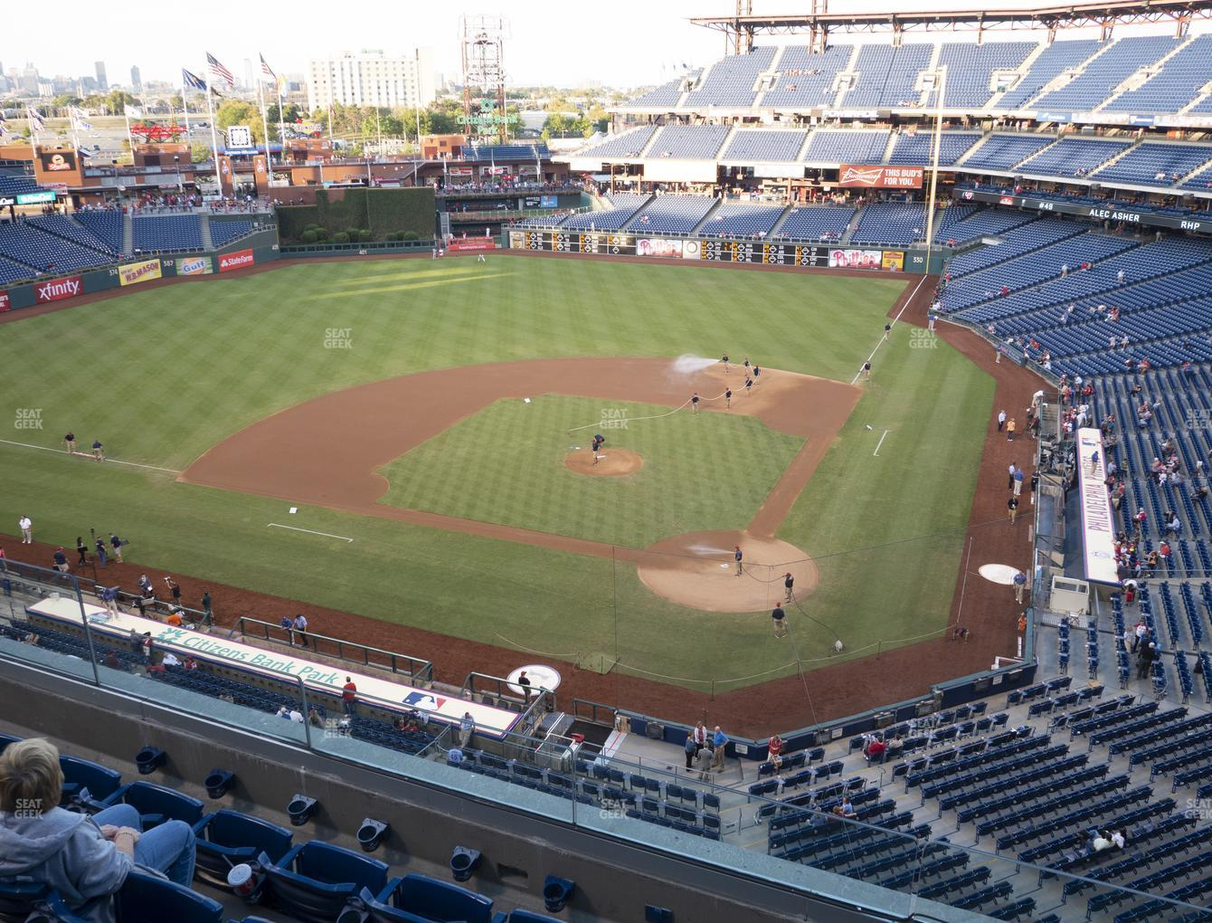 Philadelphia Phillies at Citizens Bank Park Section 323 View
