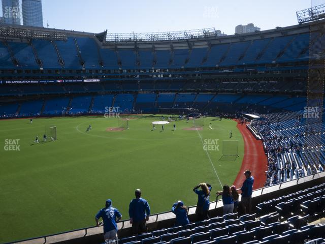 Rogers Centre Section 240 R view