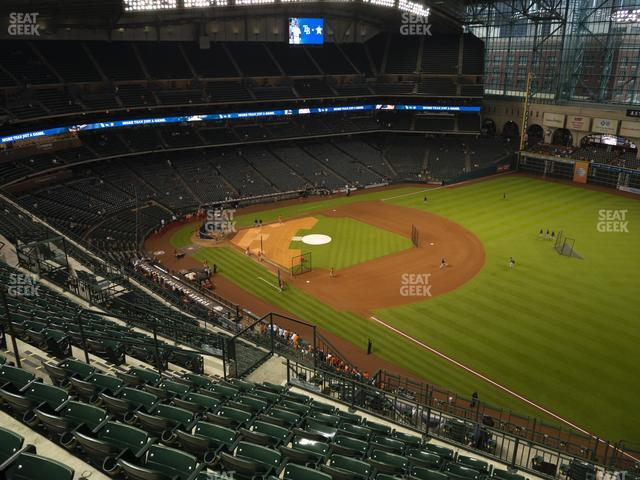Minute Maid Park Section 431 view